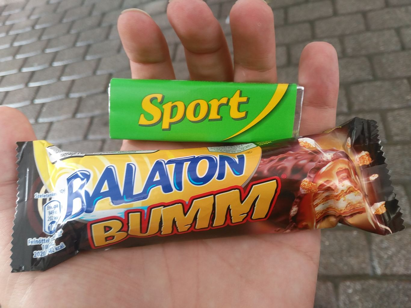 Hungarian chocolate bars