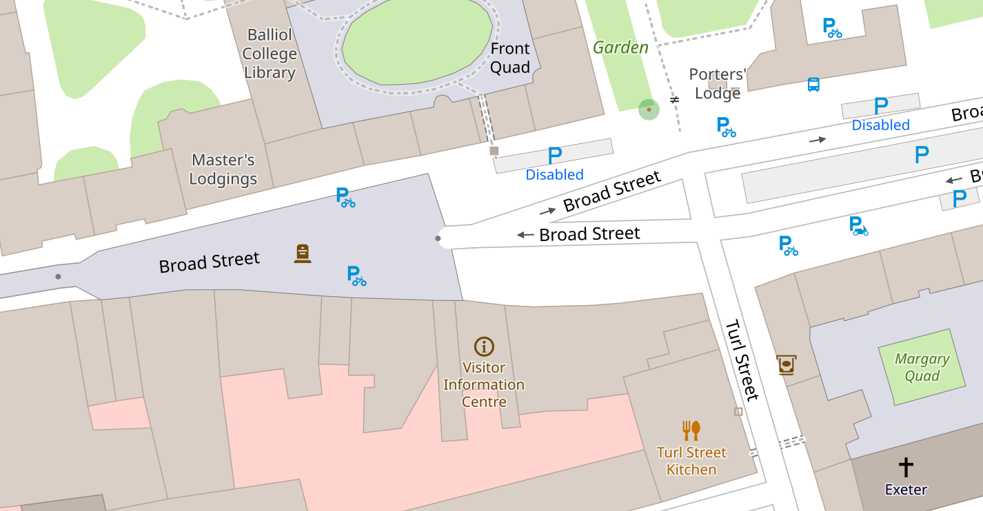 broad street map view